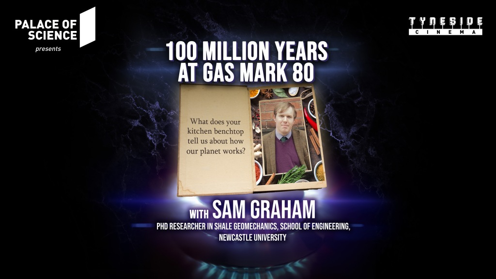 100 Million Years at Gas Mark 80 Event Poster