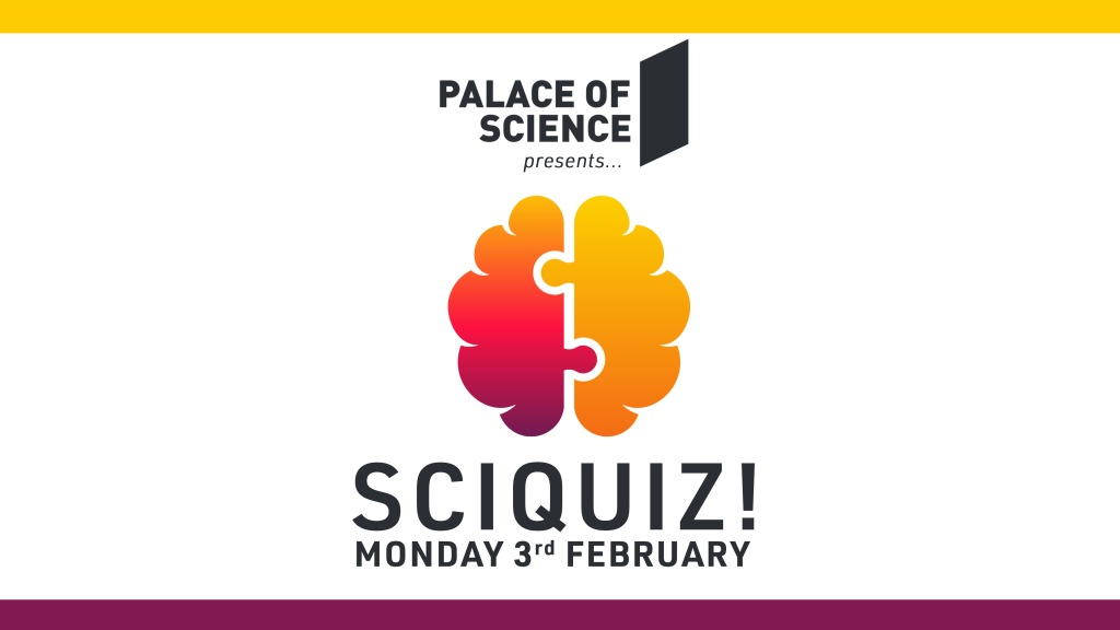February SciQuiz Event Poster